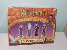 Harry Potter 3D Moulding Set. Sealed New. Rare 2001. Make your own figures