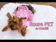 Roupinha de Croche Cãozinho Fashion - Aprendendo Crochê - YouTube
