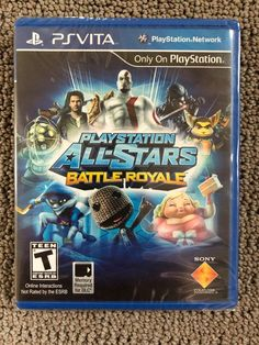 e90e0f7b04d Video Games Playstation All-Stars Battle Royale [Sony Playstation Vita Psv,  Fighting Game]