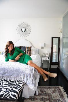 Sara's Vintage, Luxury Find House Tour:   http://www.apartmenttherapy.com/sara-azanis-vintage-luxury-find-house-tour-175513