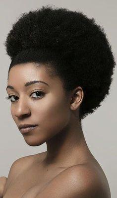 He afro speaks volumes! Natural Hair Journey, Natural Hair Care, Natural Hair Styles, Natural Beauty, Black Hair Inspiration, Natural Hair Inspiration, My Hairstyle, Afro Hairstyles, Black Hairstyles