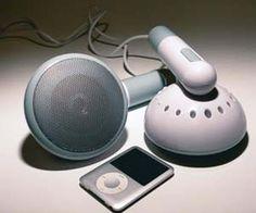 Giant Earphone Speakers