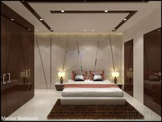 Modern Ceiling Design In Bedroom Ceiling Design In Hall Ceilingdesignideas Interior Modern Bedroom Interior Design Home Ideas Worksheets For 15 Ultra Modern Ceiling Designs For Your House Ceiling Design, Ceiling Design Living Room, Bedroom False Ceiling Design, Luxury Bedroom Design, Bedroom Furniture Design, Bedroom Ceiling, Master Bedroom Design, Bedroom Designs, Gypsum Ceiling Design