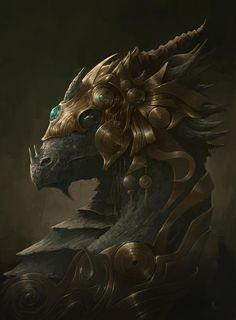 golden dragon by alejandrorojas on DeviantArt