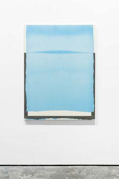 Paul Barlow's paintings slip from view