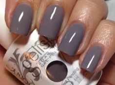 My color this week: Let's Hit the Bunny Slopes by Gelish