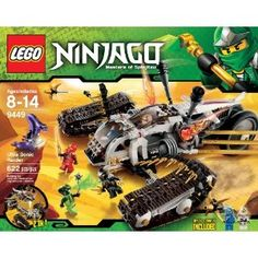 Black Friday 2014 LEGO Ninjago Ultra Sonic Raider Set 9449 from LEGO Cyber Monday. Black Friday specials on the season most-wanted Christmas gifts. Lego Ninjago, Ninjago Party, Building For Kids, Building Toys, Legos, Toddler Toys, Kids Toys, Black Friday Specials, Lego Toys