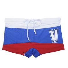 Men's Swimwear V Win Men's Swimsuits Swimming Underwear Trunks Boxer Briefs Swim Suits Beach Shorts