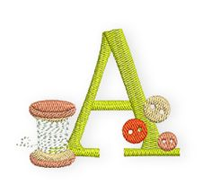 Bernina Alphabet Stickdatei free!