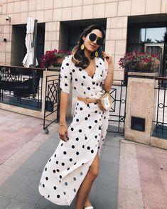 Women Fashion New Fashion – Women London Fashion Bloggers, Fashion Blogger Style, Summer Dresses With Sleeves, Short Sleeve Dresses, New Fashion, Fashion Beauty, Womens Fashion, The Dress, Ladies Dress Design