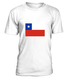 # National flag of Chile .  Get this BEST-SELLING T-ShirtCHECK OUT OUR SHOP!Guaranteed safe and secure payment with:Best quality on the market, great selection of colors and styles!National flag of Chile(Flag, South America, Chile, Santiago, Valparaiso, Punta Arenas, Patagonia, Atacama Desert, Volcano, Antarctica)