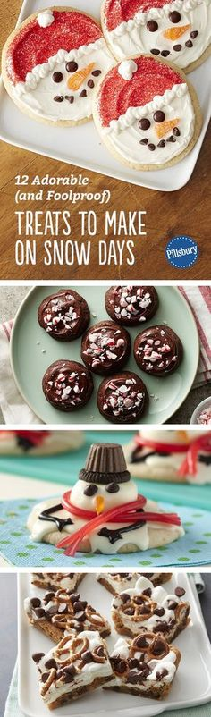Snowed in? Here are the best treats you can make with your kiddos after an entire day at home. Your little helpers will love joining in on the fun and these recipes couldn't be easier to make (or decorate).