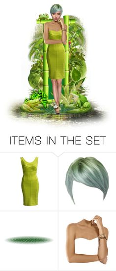 """""""Shades of Green with Lime... Frogs"""" by marvy1 ❤ liked on Polyvore featuring art"""