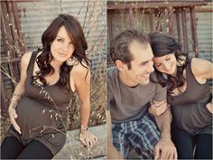 adorable maternity photos and styling