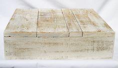 Wedding Cake Decor Box Stand  Shabby Chic Whitewash by TimeFrames, $45.00