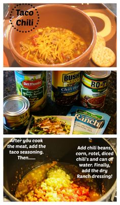 Taco Chili {Quick, easy Fall Favorite}