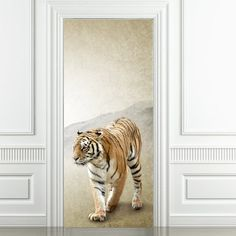 Tiger 2 Door Sticker.