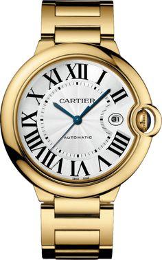 #Cartier Ballon Bleu De Cartier Yellow Gold #Watch