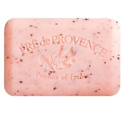 Pré De Provence Shea Butter Enriched Soap ($9) ❤ liked on Polyvore featuring beauty products, bath & body products, body cleansers, fillers, beauty, makeup, pink and pink fillers
