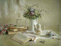 Купить Весенне-романтический - кремовый, натюрморт с цветами, фотография, фотокартина, ностальгия, ретро стиль, нежность