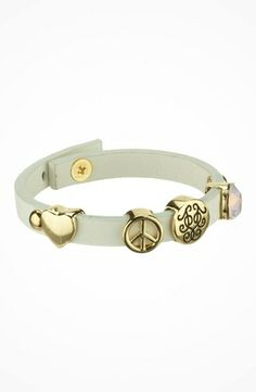 Jessica Simpson Slide On Over Charm Bracelet #accessories  #jewelry  #bracelets  https://www.heeyy.com/jessica-simpson-slide-on-over-charm-bracelet-bright-white-rose-opal-ag/