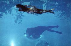 Franco Fontana, Untitled Photos, Swimming Pool, Modena, Italy, 1983. Images via Robert Klein Gallery
