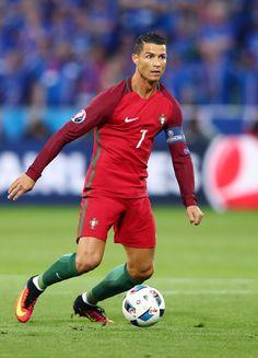 Cristiano Ronaldo Photos - Cristiano Ronaldo of Portugal in action during the…