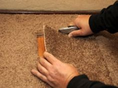 Fixing Holes in Carpets | DIY Home & Home Project Ideas | Pinterest | Diy carpet, Carpet and Carpet repair