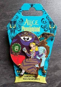 View Pin: DLRP - Alice In Phantomland - Alice and Madam Leota Disney Pins Sets, Disney Trading Pins, Disney Love, Disney Magic, Disney Pin Collections, Disneyland Pins, Alice And Wonderland Quotes, Disney Inspired Fashion, Haunted Mansion