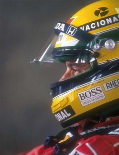"""one particular thing that Formula One can provide you, is that you know we are always expose to danger, danger of getting hurt, danger of dying."" Ayrton Senna"