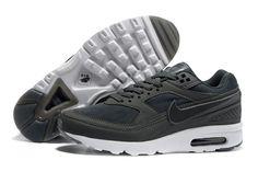 bdb963c678f3 Nieuw Nike Run Schoen Air Max Bw Heren Donkergrijs Zwart Air Max 90  Hyperfuse