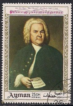 Stamps of J. S. Bach