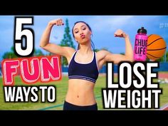 5 Ways To Lose Weight FAST! Fun Workout Routines | Mylifeaseva - YouTube