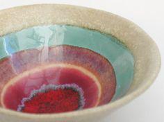 Ceramic Bowl.. stoneware pottery handmade dish in by hbceramics, £12.00