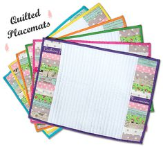 Quilted Placemats Tutorial