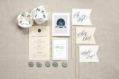 Reception Stationery | photography by http://www.beauxartsphotographie.com/