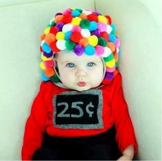 30 halloween costumes for kids/girl!Halloween may be a time of all things spooky and scary but you just can\'t beat the cuteness of a toddler in costume. Find the best toddler Halloween Costume . Cute Halloween Costumes, First Halloween, Homemade Halloween, Diy Costumes, Halloween Party, Costume Ideas, Costume Contest, Infant Costumes, Group Halloween