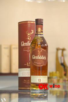 Виски Гленфиддик / Glenfiddich, 15 лет, 40%, 0.7л (тубус)