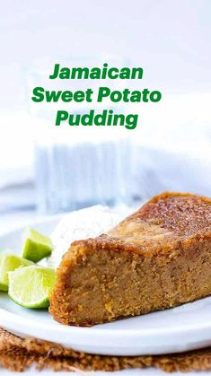 Jamaican Dishes, Jamaican Recipes, Potatoe Casserole Recipes, Sweet Potato Recipes, Caribbean Food, Caribbean Recipes, Baking Recipes, Vegan Recipes, Dessert Recipes