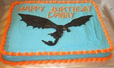 Image result for how to train your dragon cakes