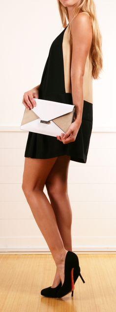 Celine Diamond Clutch Bag