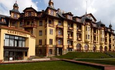 Historické Hotely Slovenska - Grandhotel****, Starý Smokovec, a Grand Hotel property, located in High Tatras, Slovakia High Tatras, Bold And The Beautiful, Grand Hotel, Art Nouveau, Mansions, House Styles, Building, Villas, Buildings