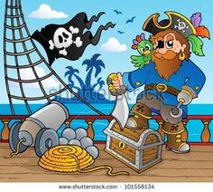 pirate theme backdrop - Google Search