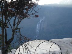 Doi Inthanon National Park campsite and waterfall view Chiang Mai Thailand