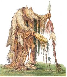 Each shaman has several spirit allies, the more and the stronger they are the stronger is the shamans power. Bear Shaman