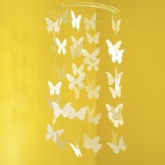 Butterfly Paper Mobile