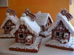 Рождество, страница 334 | Специи Ginger House, Gingerbread Houses, Cookie Decorating, Christmas Time, Ginger Bread, Cookies, Ornaments, Pictures, Little Cottages