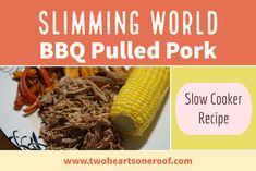 Looking for easy Slimming World Slow Cooker recipes? here is our slimming world bbq pulled pork recipe, perfect for all the family