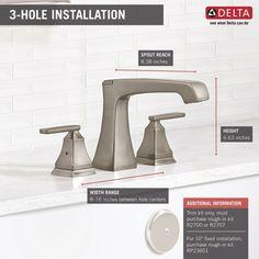 T2764-SS,RB Delta Ashlyn Roman Two Handle Deck Mount Tub Filler Trim & Reviews   Wayfair Roman Tub Faucets, Tub And Shower Faucets, Shower Tub, Bathtub, Warm Undertone, Delta Faucets, Deck, Handle