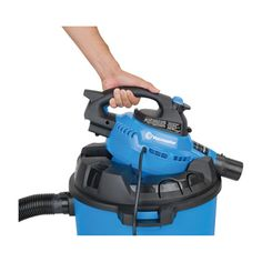Vacmaster 2-in-1 Wet/Dry Blower/Vac — 12 Gallon, 5 HP
